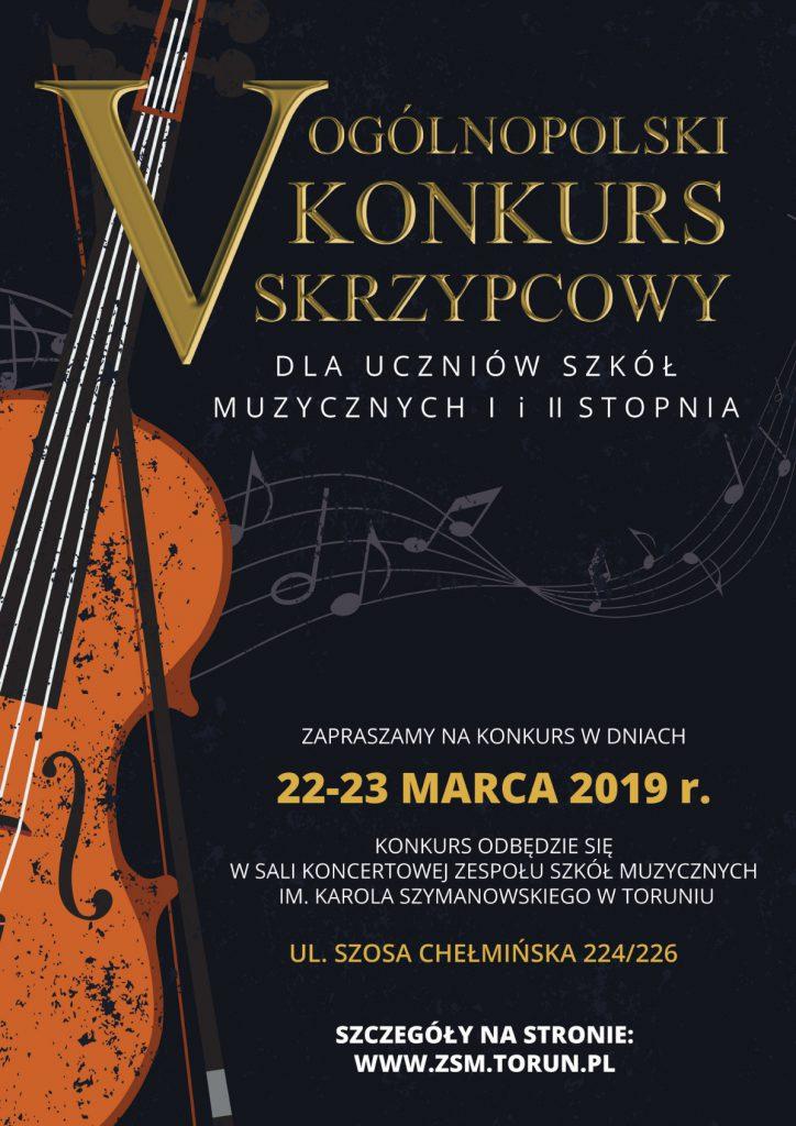 V Ogólnopolski Konkurs Skrzypcowy w Toruniu